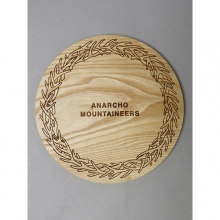 ....... RESEARCH | Anarcho Cups - 068 Wood Lid (for Plate) - Beige