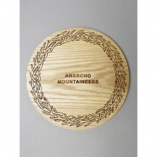 ....... RESEARCH | Anarcho Cups - 067 Wood Lid (for Bowl) - Beige