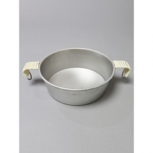 ....... RESEARCH | Anarcho Cups - 061 Anarcho Bowl (Wrapped Handle) - Steel Gray × Beige