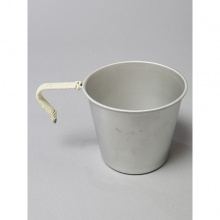 ....... RESEARCH | Anarcho Cups - 060 Anarcho Mug (Wrapped Handle) - Steel Gray × Beige