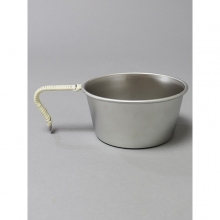 ....... RESEARCH | Anarcho Cups - 059 Anarcho Cup (Wrapped Handle) - Steel Gray × Beige