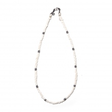 NAISSANCE / ネサーンス | BRAID NECKLACE - Ivory