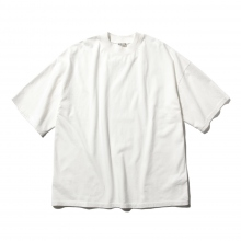 AURALEE / オーラリー | SOFT CORD BIG TEE - White