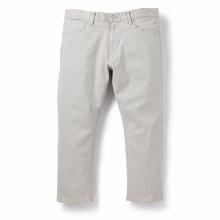 BEDWIN / ベドウィン | 9/L STRETCH PIQUE PANTS 「JESSEE」 - Ivory