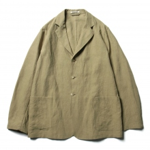 AURALEE / オーラリー | WASHED LINEN JACKET - Khaki Green