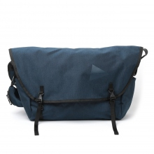 and wander / アンドワンダー | heather messenger bag - Navy