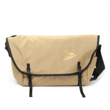 and wander / アンドワンダー | heather messenger bag - Beige
