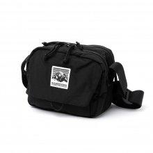 Mt.RAINIER DESIGN / マウントレイニアデザイン | ORIGINAL FLAP SIDE BAG - Black