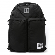 Mt.RAINIER DESIGN / マウントレイニアデザイン | ORIGINAL TWO POCKET PACK - Black