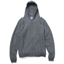 GOODENOUGH / グッドイナフ | DETACHABLE SLEEVE HOODIE - Charcoal