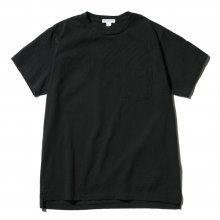 ENGINEERED GARMENTS | Printed Cross Crew Neck T-shirt - St. Diamond - Navy
