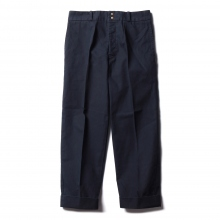 FUJITO / フジト | Wide Slacks - Navy