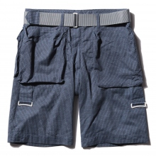 ....... RESEARCH | Bootleg Shorts - Navy ☆