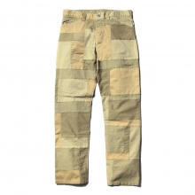....... RESEARCH | 3 Pocket Patched Pants - Beige ☆