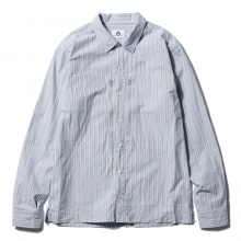 GOODENOUGH / グッドイナフ | ZIPPER POCKET SHIRTS - Blue