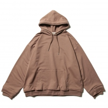 YOKE / ヨーク | RESIZED WIDE HOODIE - Taupe ☆