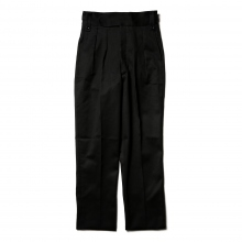 NEAT / ニート | Cotton Pique / Beltless - Black