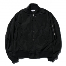 ENGINEERED GARMENTS / エンジニアドガーメンツ | Aviator Jacket - Memory Polyester - Black~