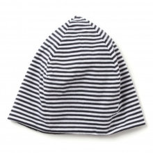 ENGINEERED GARMENTS | Reversible Beanie Cap - St. French Terry - Navy ☆