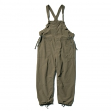 ENGINEERED GARMENTS / エンジニアドガーメンツ | Overalls - 4.5oz Waxed Cotton - Olive~