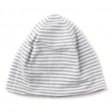 ENGINEERED GARMENTS | Reversible Beanie Cap - St. French Terry - H.Grey