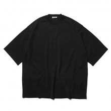 AURALEE / オーラリー | SUPER HARD TWIST HIGH GAUGE KNIT TEE - Black