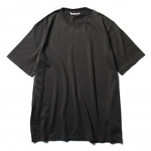 AURALEE / オーラリー | LUSTER PLAITING TEE - Ink Black