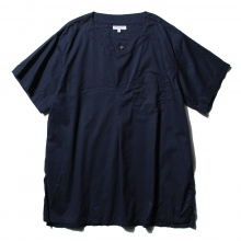 ENGINEERED GARMENTS / エンジニアドガーメンツ | MED Shirt - High Count Cotton Lawn - Dk.Navy