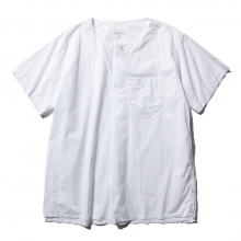 ENGINEERED GARMENTS / エンジニアドガーメンツ | MED Shirt - High Count Cotton Lawn - White