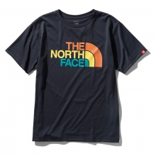 THE NORTH FACE / ザ ノース フェイス | S/S Colorful Logo Tee - UN アーバンネイビー