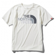 THE NORTH FACE / ザ ノース フェイス | S/S Colorful Logo Tee - W ホワイト