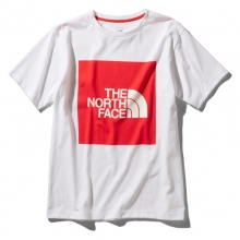 THE NORTH FACE / ザ ノース フェイス | S/S Colored Big Logo Tee - TR TNFレッド
