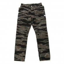 SASSAFRAS / ササフラス | FALL LEAF SPRAYER PANTS - Tiger Camo ★