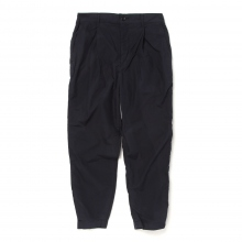 UNIVERSAL PRODUCTS / ユニバーサルプロダクツ | COTTON EASY SLACKS - Navy