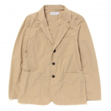 UNIVERSAL PRODUCTS / ユニバーサルプロダクツ | COTTON TAILORED JACKET - Beige