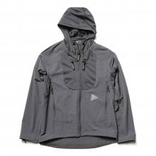and wander / アンドワンダー | trek jacket 2 - Gray
