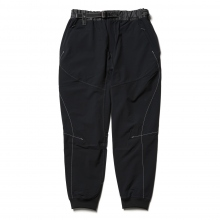 and wander / アンドワンダー | Schoeller 3XDRY stretch saruel pants - Black