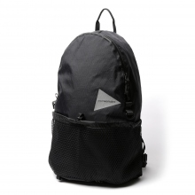 and wander / アンドワンダー | X-Pac 20L daypack - Black
