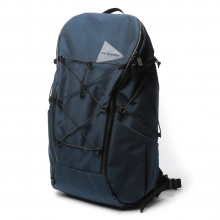 and wander / アンドワンダー | heather backpack - Navy