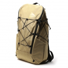 and wander / アンドワンダー | heather backpack - Beige