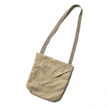 ENGINEERED GARMENTS / エンジニアドガーメンツ | Shoulder Pouch - PC Iridescent Twill - Khaki