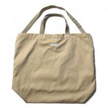 ENGINEERED GARMENTS / エンジニアドガーメンツ | Carry All Tote - PC Iridescent Twill - Khaki