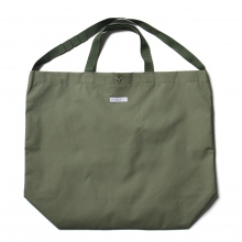 ENGINEERED GARMENTS / エンジニアドガーメンツ | Carry All Tote - Acrylic Coated Cotton - Olive