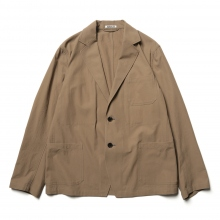 AURALEE / オーラリー | FINX HARD TWIST GABARDINE JACKET - Brown
