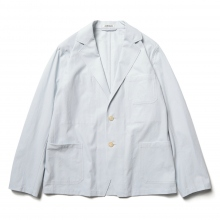 AURALEE / オーラリー | FINX HARD TWIST GABARDINE JACKET - Light Blue