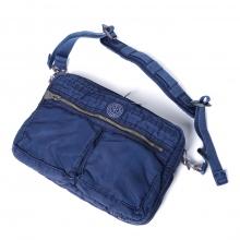 Porter Classic / ポータークラシック | SUPER NYLON SHOULDER BAG M - Blue