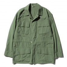 AURALEE / オーラリー | WASHED FINX RIPSTOP FATIGUE JACKET - Olive Green