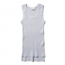 AURALEE / オーラリー | HIGH GAUGE RIB KNIT TANK (レディース) - Light Blue
