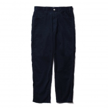 Living Concept / リビングコンセプト | SUMMER CORDUROY 5POCKET WIDE PANTS - Navy