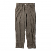 Living Concept / リビングコンセプト | SUMMER CORDUROY 5POCKET WIDE PANTS - Khaki